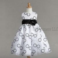 Flower Girl Dresses  Black & White Dresses  Fancy Dresses