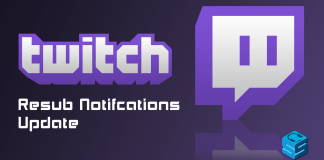 Twitch Resub Notification Update