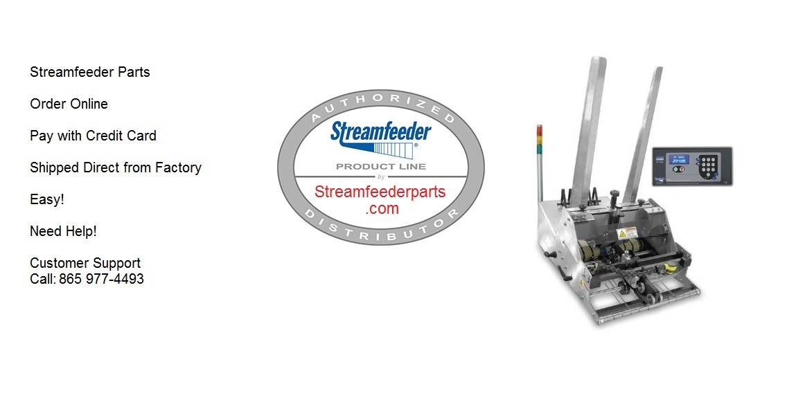 Streamfeeder Parts and Manuals
