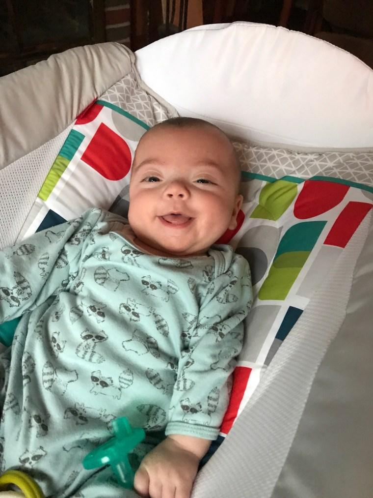 Connor 4 months