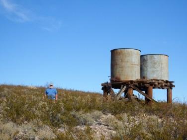 Railroad Water Tanks