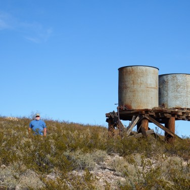 Railroad Water Tanks
