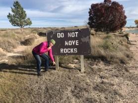 Dont move rocks