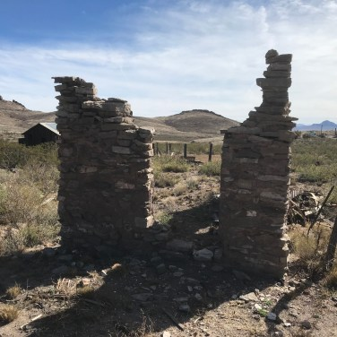 Lake Valley Ruins