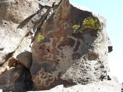 La Cieneguilla petroglyths