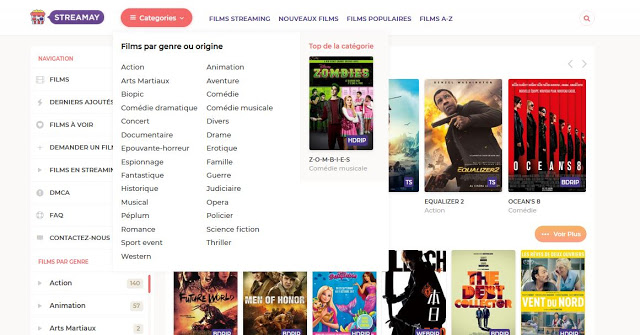 TOP 5 des meilleurs sites de Streaming: Films et Séries gratuit 1