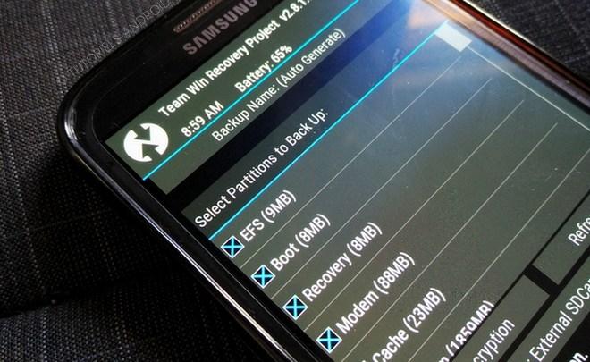 Sauvegarder son smartphone avant le flash d'une ROM [Méthode TWRP] 1