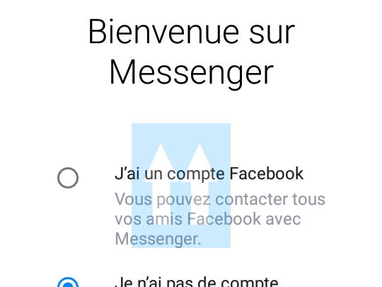 Utiliser Messenger sans compte Facebook ? Oui, c'est possible ! 1