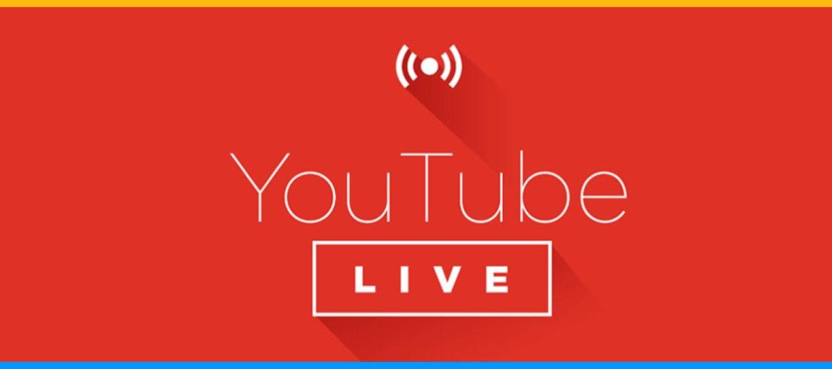 YouTube live Wowza Transmisje niedzielnych mszy św.znaszego kościoła
