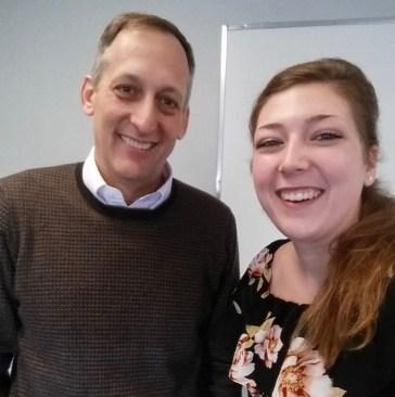 Dr. Matthew Jockers and Catherine Jones