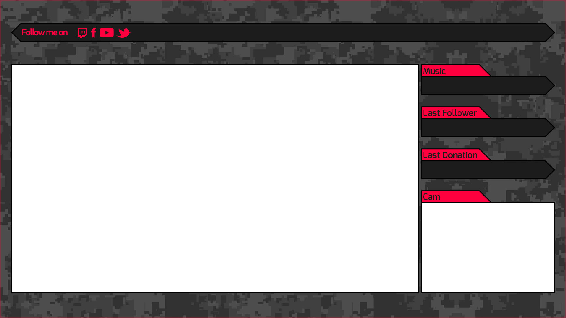 stream overlay template
