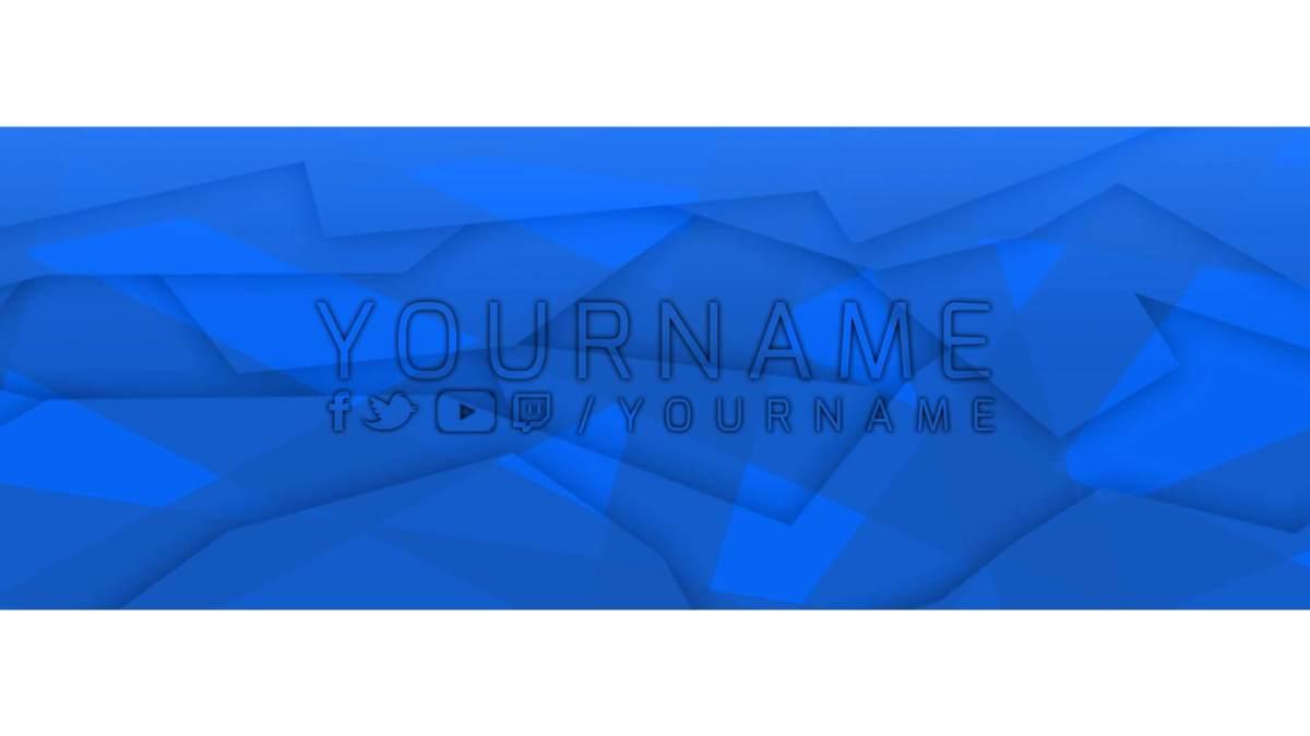 facebook banner blue