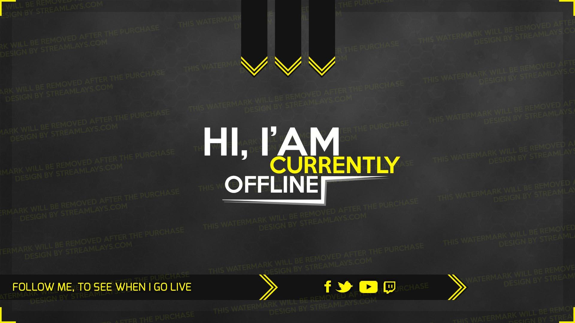 hitbox offline screen