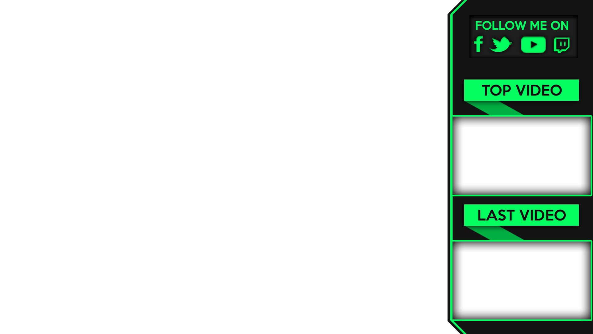 youtube banner endcard