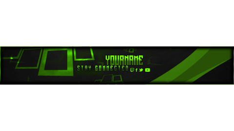 youtube banner free psd