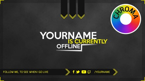 twitch offline screen