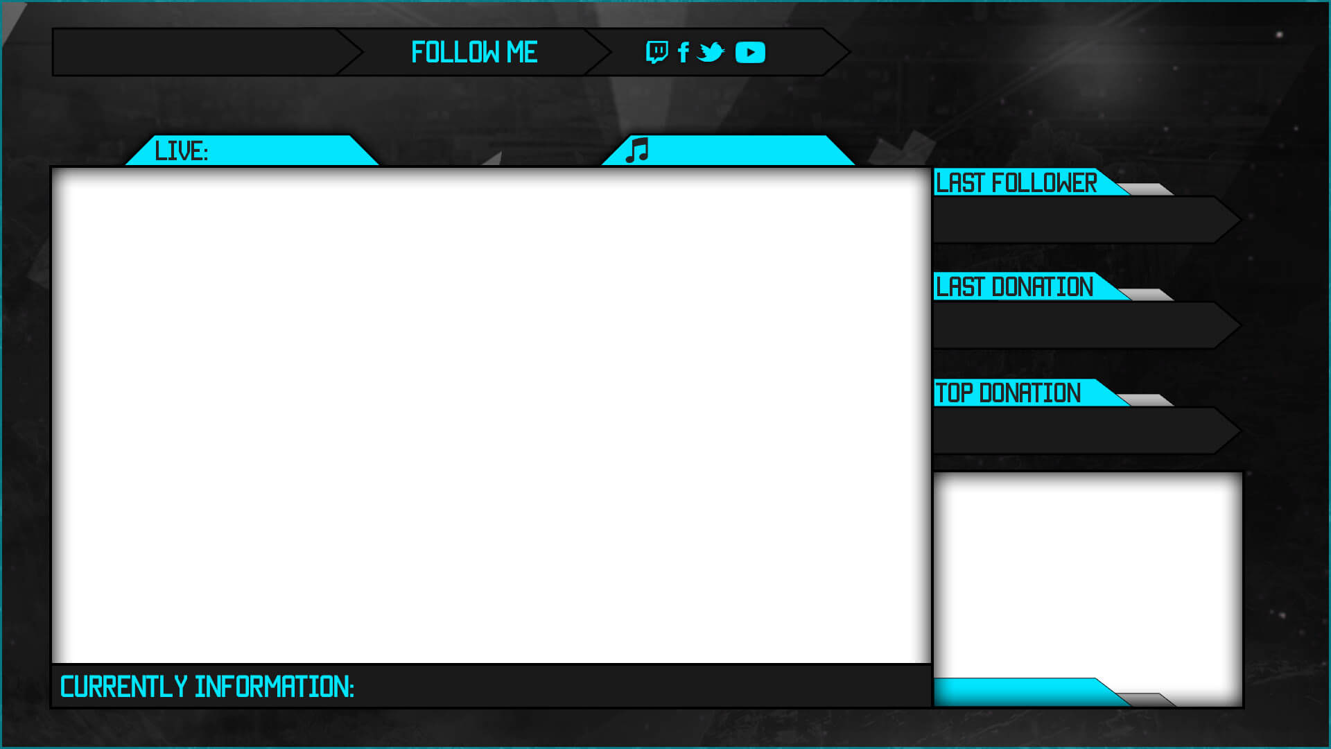 animated client overlay template
