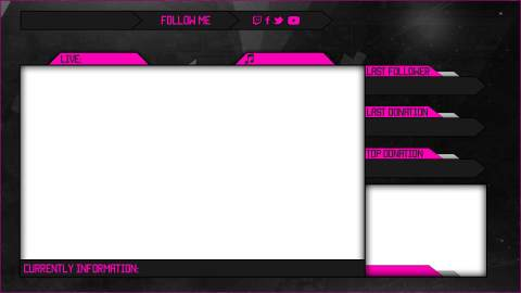 pink client overlay template