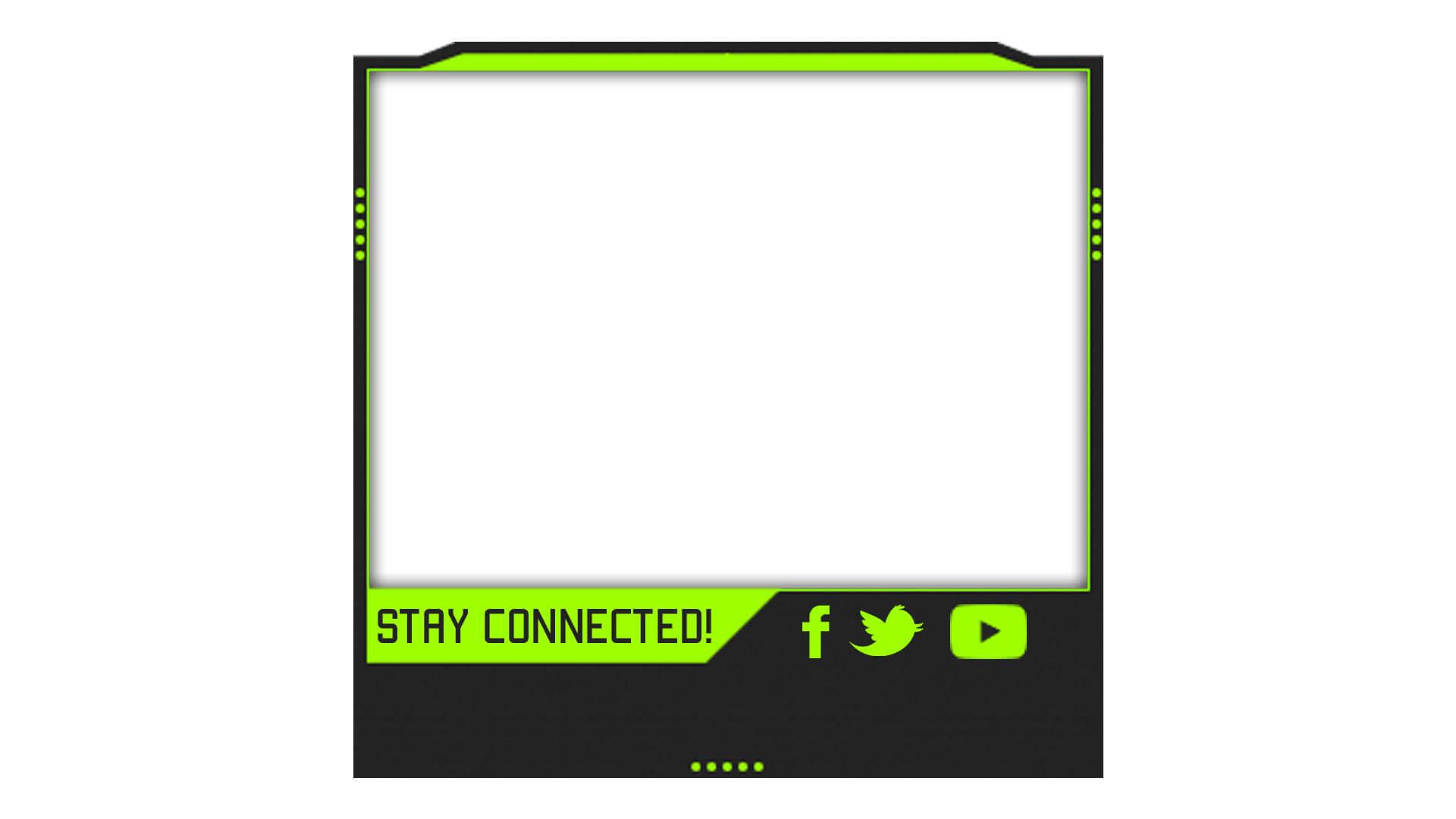 green facecam template