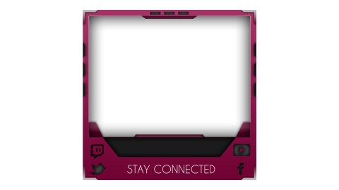 facecam twitch pink