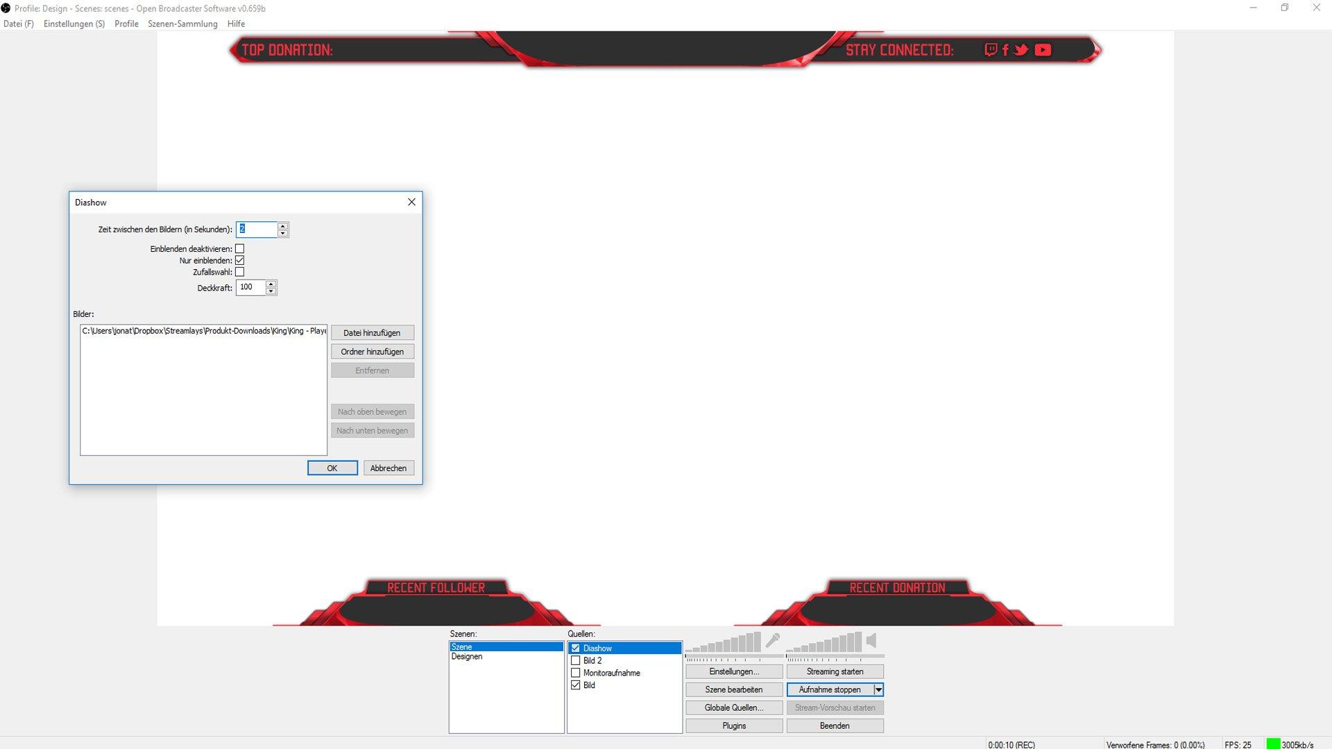 animated twitch overlay