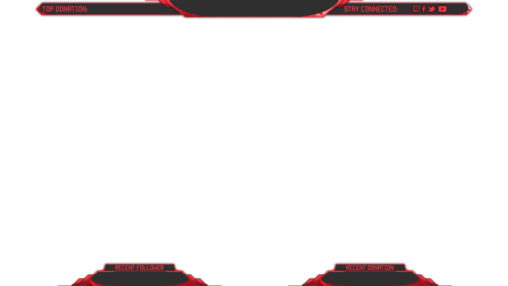 King twitch overlay for Free twitch overlay template