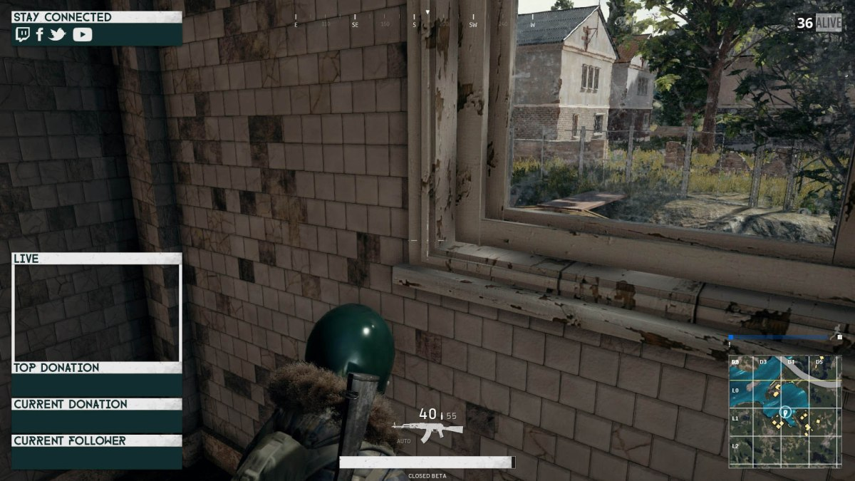 twitch overlay for PLAYERUNKNOWN'S BATTLEGROUNDS