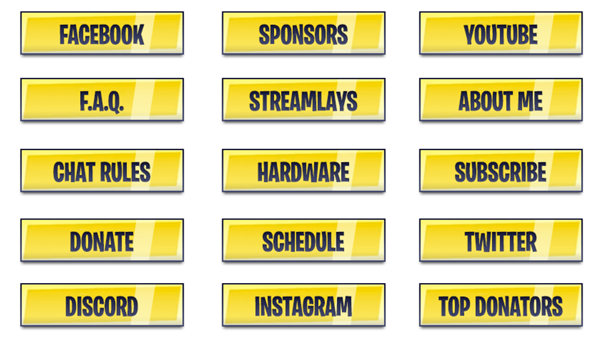 Fortnite Twitch Panels Download