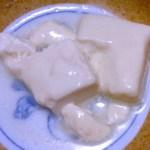 手軽で美味しいとろける湯豆腐