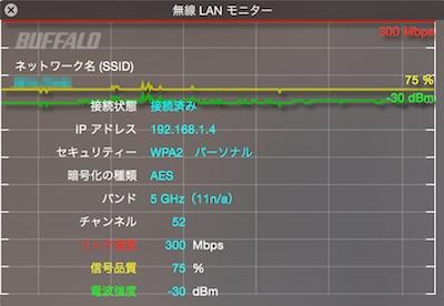 WSR-1166DHP 無線LANモニター