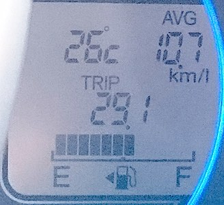 大河原高原 山頂温度
