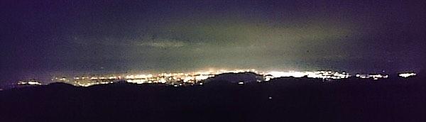 大河原高原 夜景