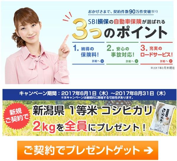 SBI損保 自動車保険キャンペーン.jpg