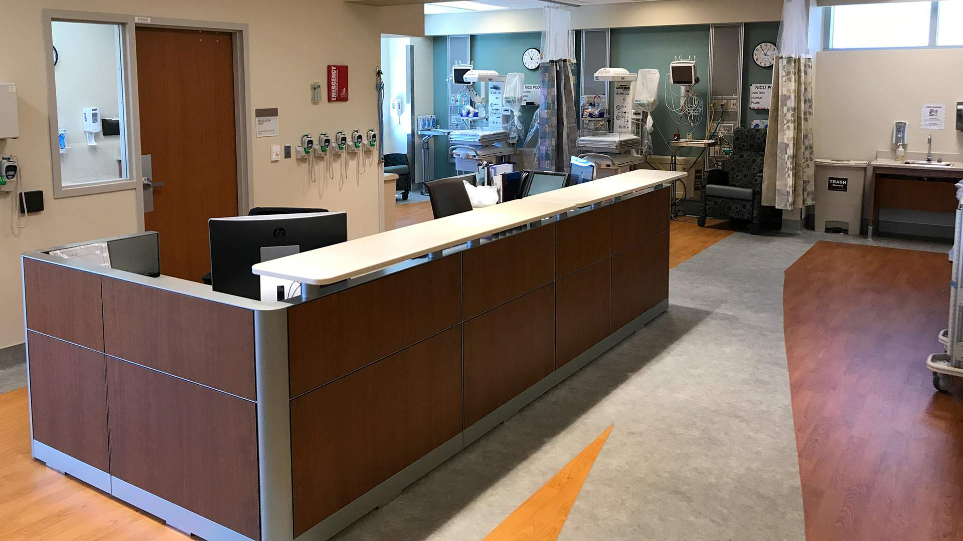 NICU  Rideout Memorial Hospital  Streamline Construction