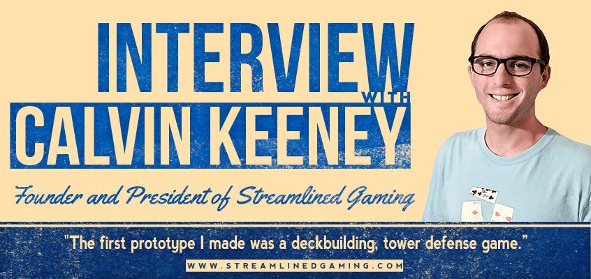 Game Designer Interview with Calvin Keeney