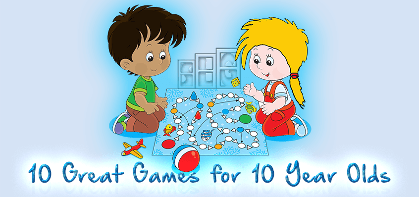 10 Great Board Games for 10 Year Olds