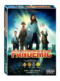 Pandemic the Board Game Box Image