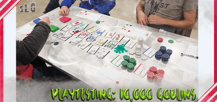 How Mike Prepared His Board Game Prototype and Playtested it at PAX South