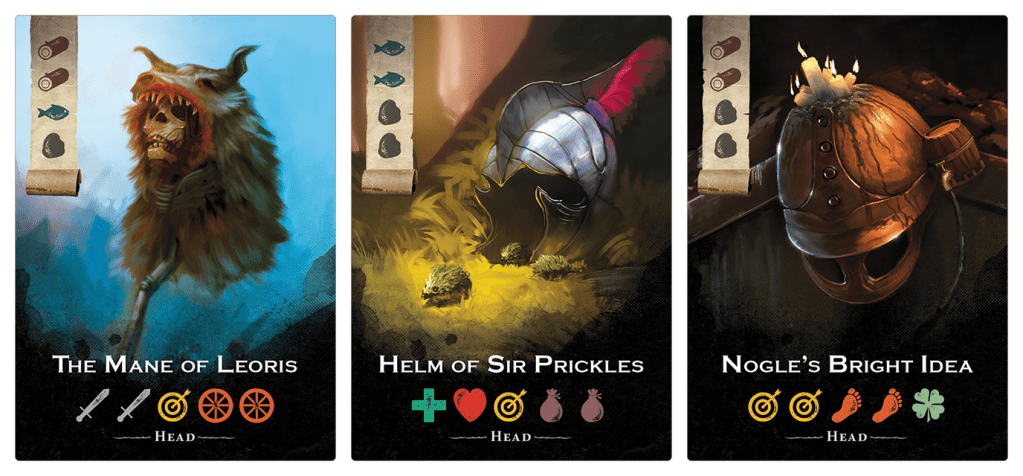 3 card images for The City of Kings tabletop game