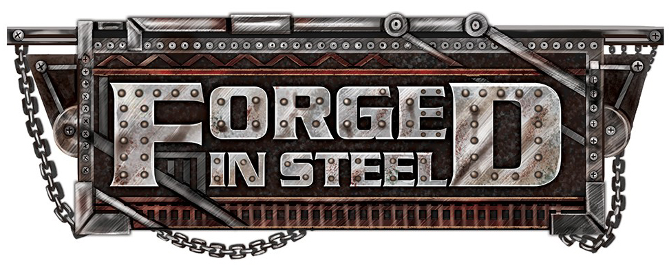 Forged in Steel Logo by The Noble Artist