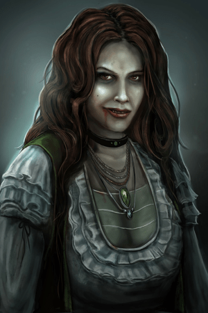 Vampire Woman Eleanor by The Noble Artist