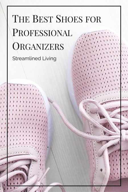 The best shoes for Professional Organizers