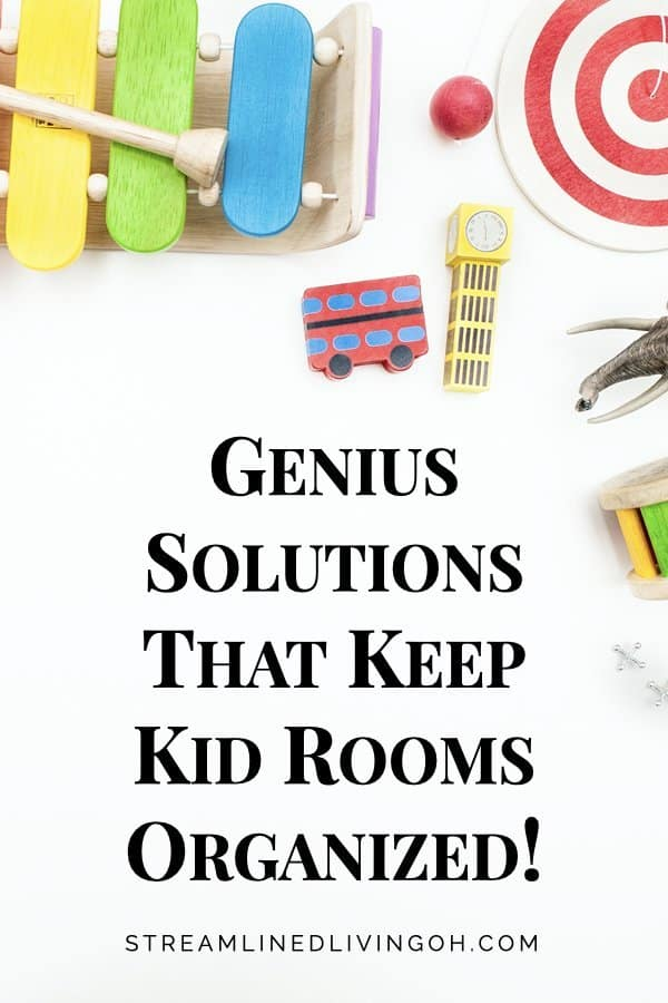 The Secret to Organizing Kids Rooms
