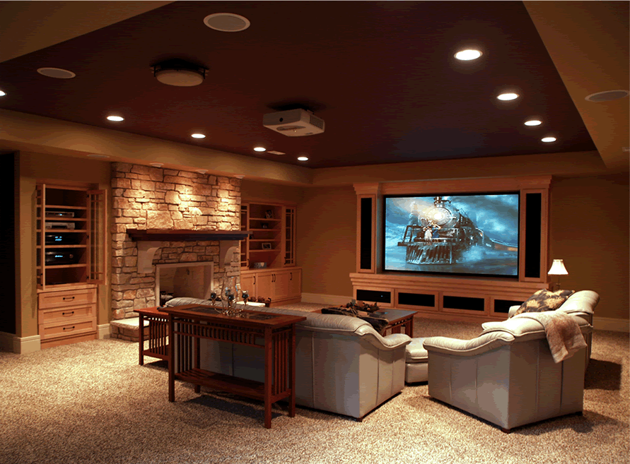 Home Theater  House TV Gallery   Streamline