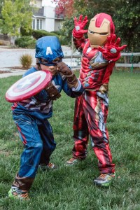 2016 – Avengers Assemble! (Captain America and Iron Man)