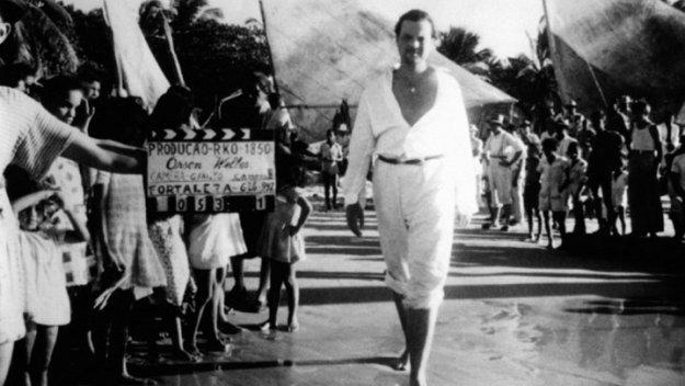 Orson Welles in Brazil for It's All True