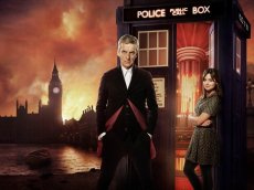 Peter Capaldi and Peter Capaldi in Season 8 of Doctor Who, now on Netflix