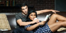 Mindy Kaling and Chris Messina in 'The Mindy Project' - Season Four on Hulu