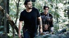 Jason Momoa and Kiowa Gordon in the Sundance Channel original series 'The Red Road'