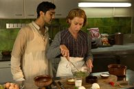 Manish Dayal and Helen Mirren in 'The Hundred-Foot Journey,' directed by Lasse Hallstrom